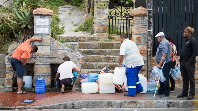 Cape Town water crisis: Residents urged to turn off toilet taps